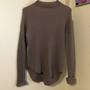 Mauve highneck sweater